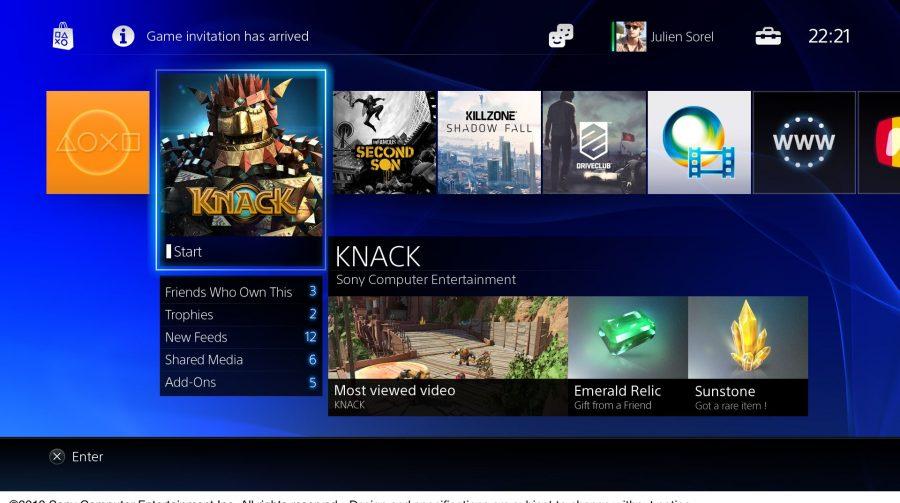 Conheça a Interface do PS4
