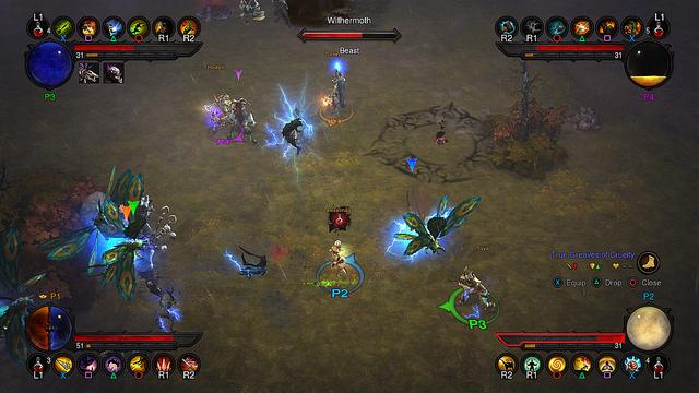 Diablo 3 PS3 Batalhas