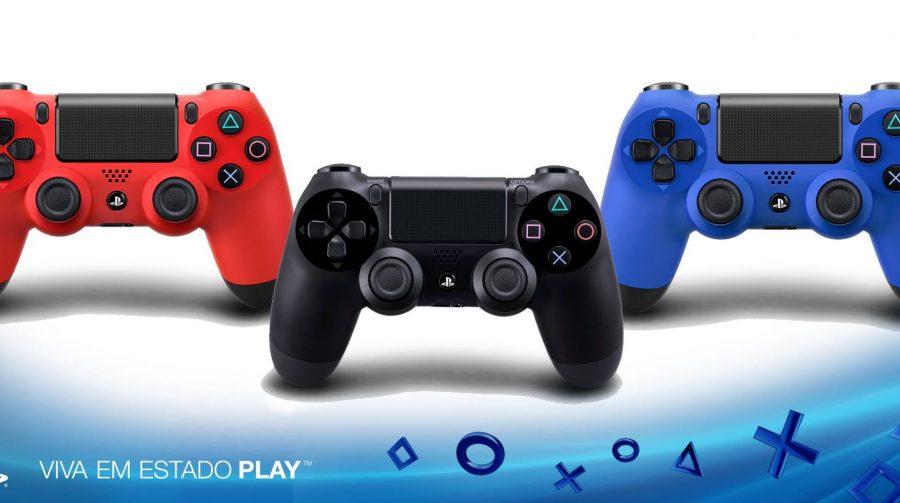 Novas Cores para o Dualshock 4