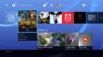 Interface PS4