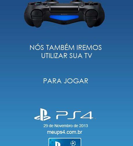 PS4 está chegando