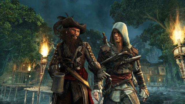 Os piratas de Assassins Creed IV Black Flags