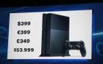 Preço PS4