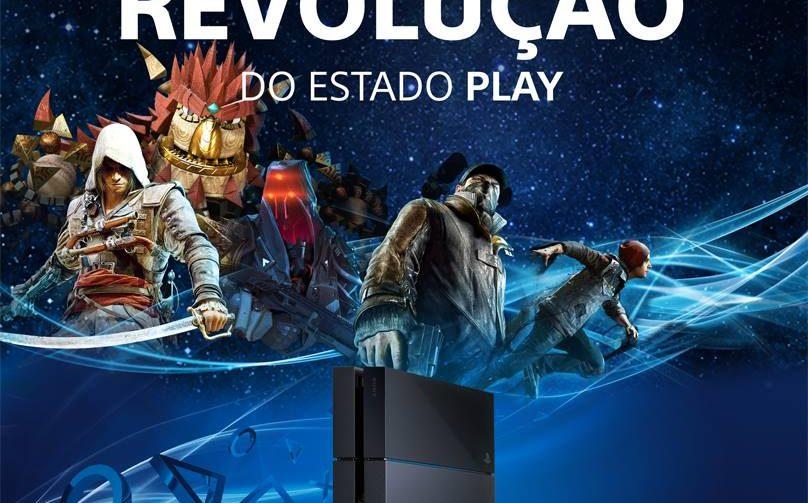 PS4 é lançado no Brasil