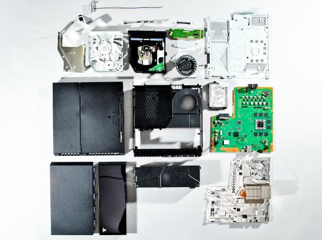 PS4 desmontado