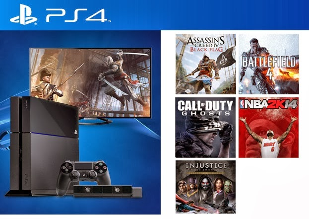 Sony lança o PS4 sem jogos no Brasil