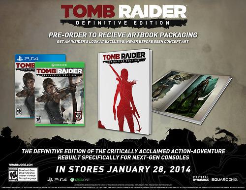 Tomb Raider Definitive Edition é anunciado