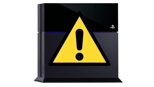 Usuários reportam erros no PS4