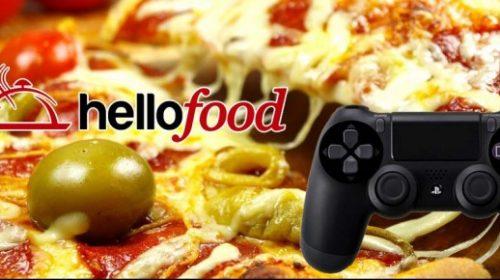 Nunca mais passe fome jogando: Diga um Hellofood!