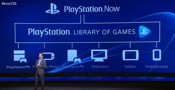 Sony anuncia o PlayStation Now
