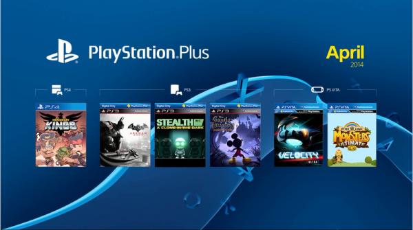 PSN Plus Abril de 2014