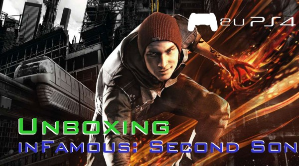 Unboxing do inFamous Second Son