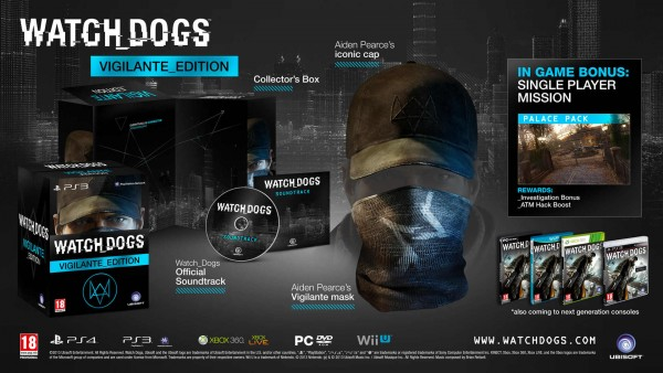 Vigiliante Edition de Watch Dogs