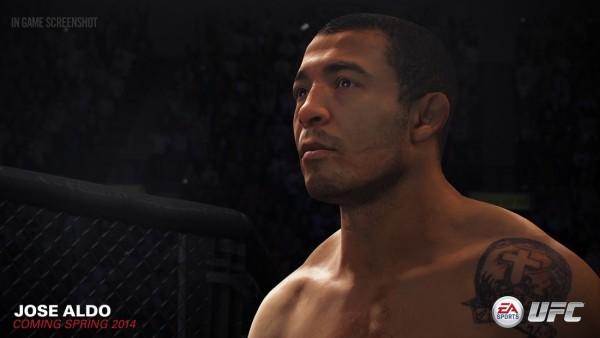 José Aldo no gameplay de EA Sports UFC