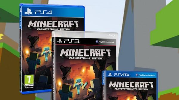 Minecraft recebe data de lançamento para PS4