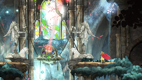 Gráficos Child of Light
