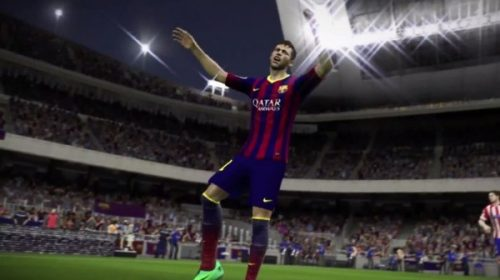 Jogando a DEMO de FIFA 15