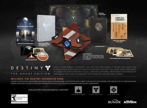 Edições limitadas de Destiny tem alta demanda