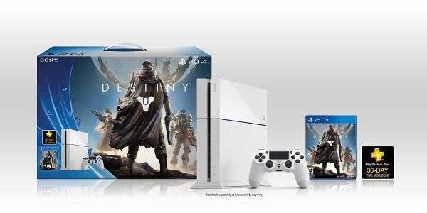 Unboxing PS4 branco do Destiny