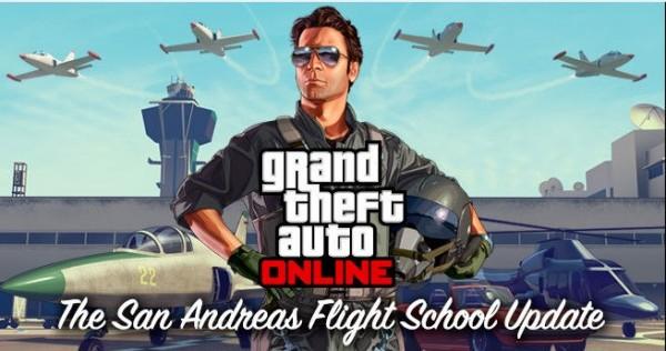 Update The San Andreas Flight School de GTA V chega hoje