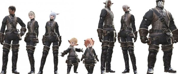 Final Fantasy XIV A realm reborn raças