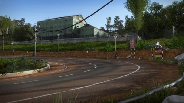 Estrada no PS4