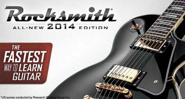 Ubisoft anuncia Rocksmith 2014 para PS4