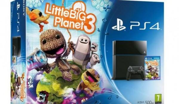 Vaza bundle do PS4 com Little Big Planet 3