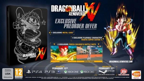 Dragon Ball: Xenoverse recebe data de lançamento