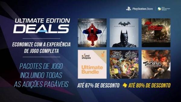 Sony oferece novos descontos na PSN Store