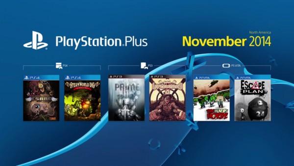 PSN Plus Novembro de 2014