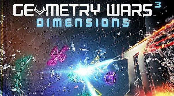 Geometry Wars 3: Dimensions é eletrizante