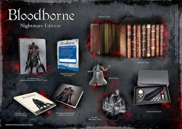 Edições de colecionadores de Bloodborne