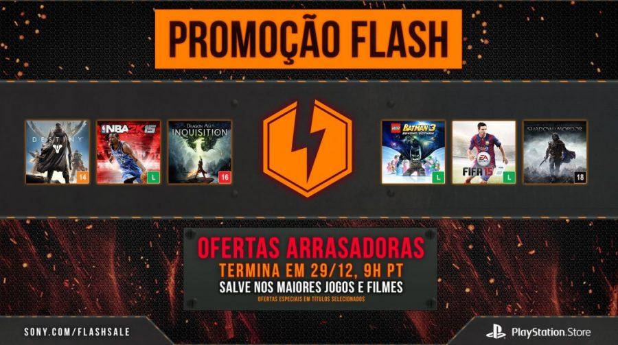 Flash Sale de Dezembro na PSN