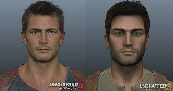 O novo Nathan Drake do Uncharted 4: A Thief's End