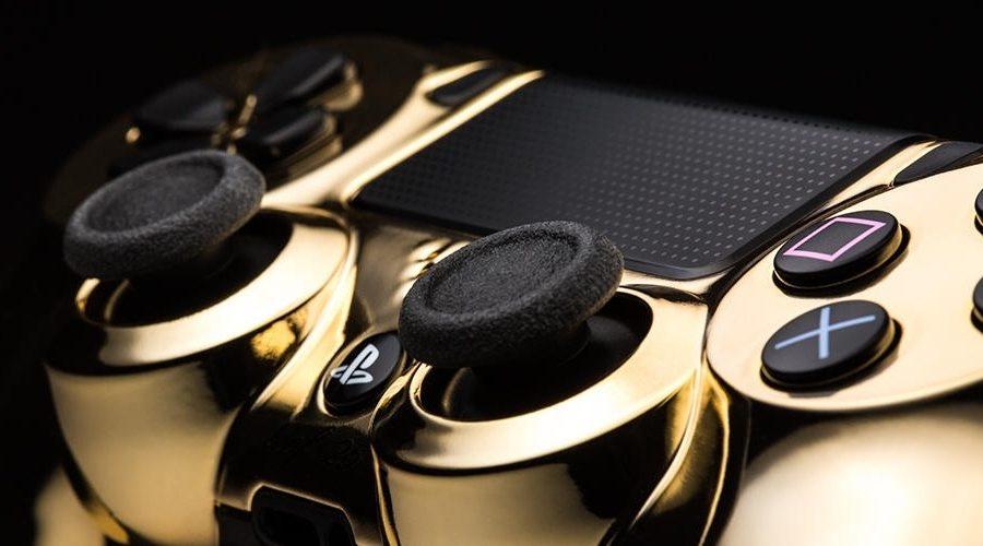 Empresa lança DualShock 4 banhado a ouro 24K