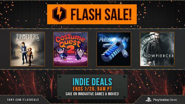 A Flash Sale tem mais de 60 jogos (indie) em promoção