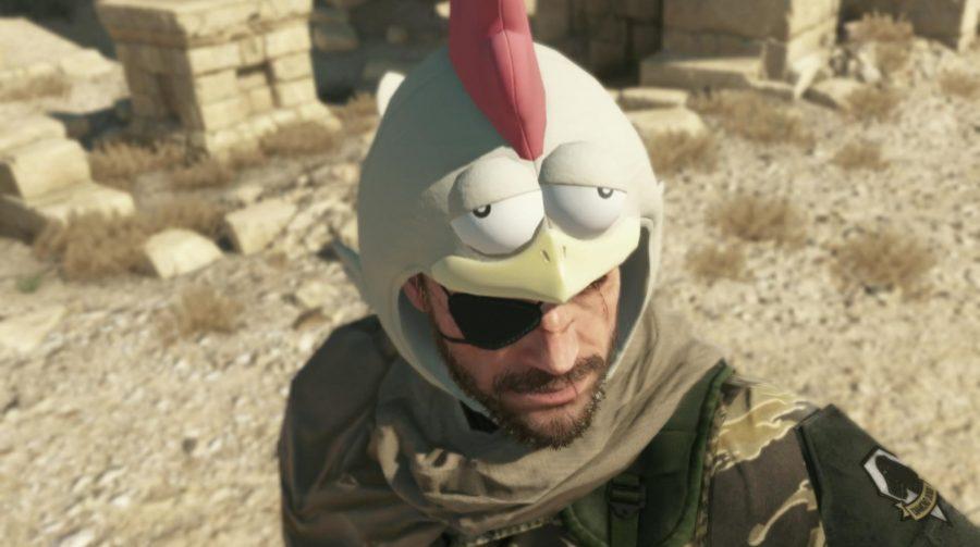 Chapéu de galinha será um item de Metal Gear Solid V