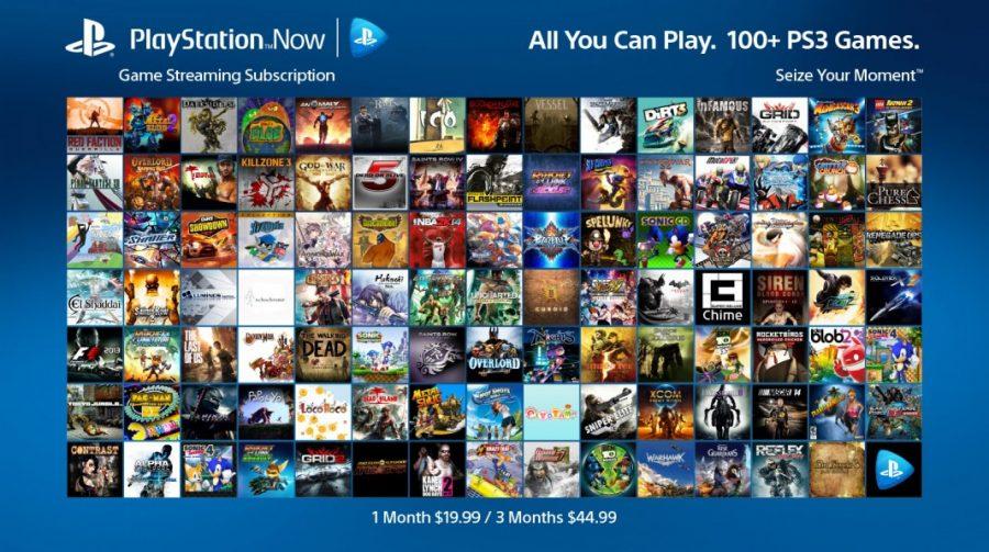 Sony detalha PlayStation Now