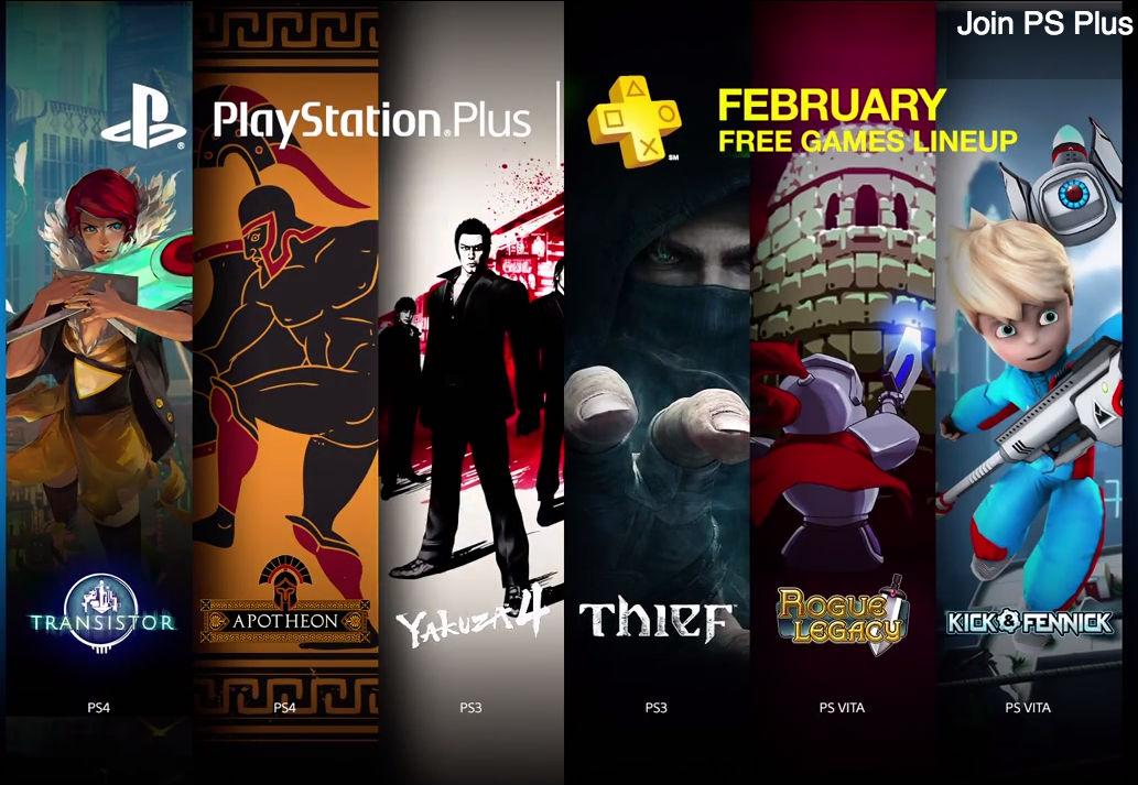PlayStation Plus Fevereiro de 2015
