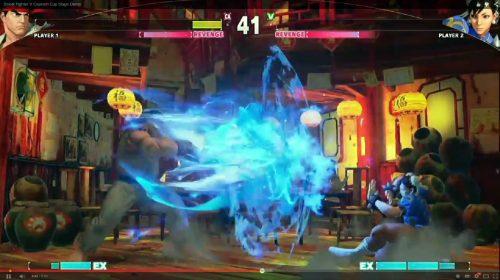 Partida de exibição revela mais segredos de Street Fighter V