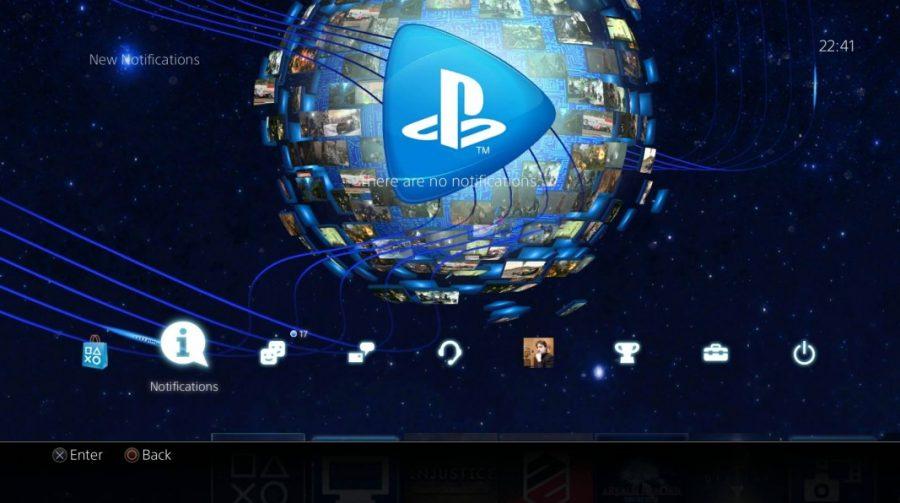 Novo tema dinâmico está disponível para PlayStation 4