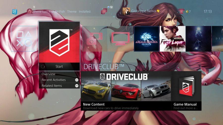 PS4 recebe novos temas (pagos) estáticos