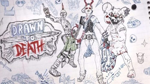 Drawn to Death ganha gameplay com tutorial