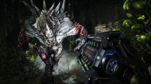 Trailer de lançamento de Evolve