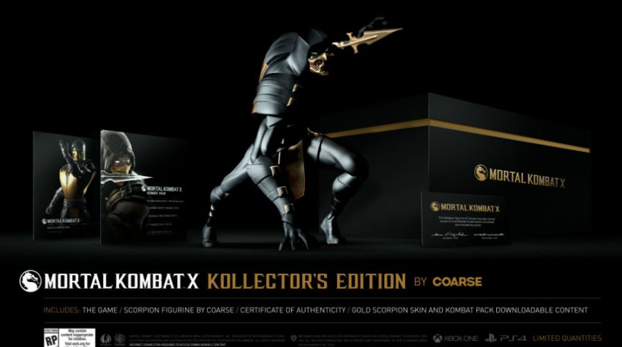 Kollector's Edition de Mortal Kombat X