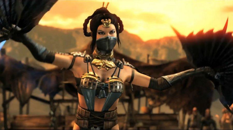 Mortal Kombat X: Fatality de Reptile e variações de Kitana