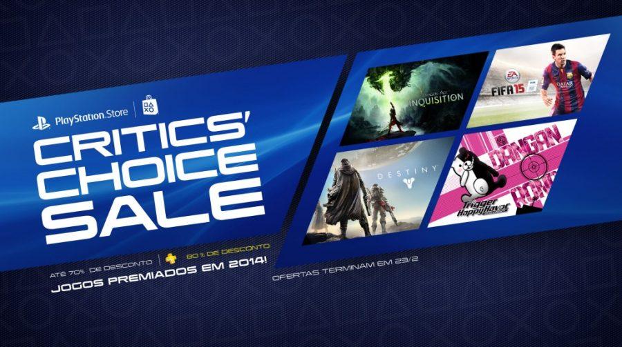 Sony anuncia ofertas na PlayStation Network