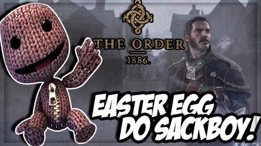Easter Egg do Sackboy em The Order:1886
