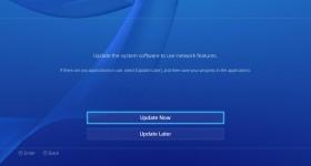 Update 2.04 PS4